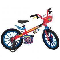 Bicicleta Infantil Aro 16 Mulher Maravilha 2365 - Bandeirante - Bandeirante