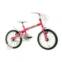 Bicicleta Infantil Aro 16 Pink Monny com Cesta - Track  Bikes - Track  Bikes