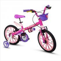 Bicicleta Infantil Aro 16 Top Girls Nathor -