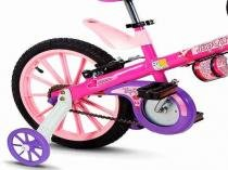Bicicleta Infantil Aro 16 Top Girls Nathor Menina -