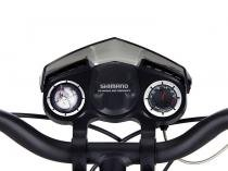 Bicicleta Infantil Aro 20 Caloi Kids Hot Wheels 20 - 7 Marchas Câmbio Shimano Preto e Azul
