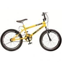 Bicicleta Infantil Aro 20 Colli Bike - Cross Free Ride Amarelo Freio V-Brake