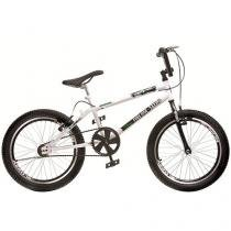 Bicicleta Infantil Aro 20 Colli Bike - Cross Free Ride Branco Freio V- Brake