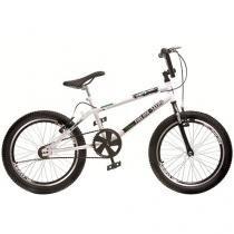 Bicicleta Infantil Aro 20 Colli Bike - Cross Free Ride Branco Freio V- Brake