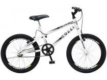 Bicicleta Infantil Aro 20 Colli Bike Max Boy      - Branca Freio V-break
