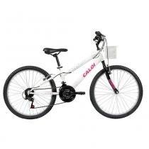 Bicicleta Infantil Aro 24 21 Marchas Caloi Ceci Freio V-Brake -
