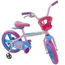 Bicicleta Infantil Baby Alive Aro 14 Bandeirante - Colorido Com Rodinhas