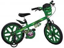 Bicicleta Infantil Bandeirante Avengers Hulk - Aro 16 Freio V-Brake