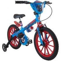 Bicicleta Infantil Bandeirante Capitão América - Aro 16 Freio V-brake