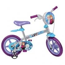 Bicicleta Infantil Bandeirante Frozen - Aro 12 Freio V-brake
