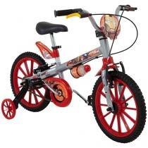 Bicicleta Infantil Bandeirante Homem de Ferro - Aro 16 Freio V-brake