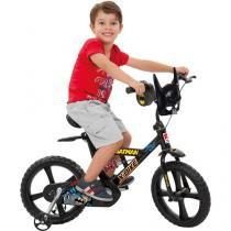 Bicicleta Infantil Bandeirante X-Bike Batman - Aro 14