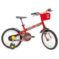 Bicicleta Infantil Caloi Minnie 16, Aro 16, 1 Velocidade, Vermelha -