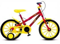 Bicicleta Infantil Colli MTB Hot Aro 16 Vermelho Masculino - 102 - Colli