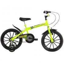 Bicicleta Infantil Dino Neon AN Aro 16 Track  Bikes - Amarelo - Track Bikes