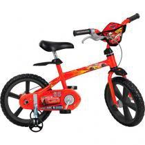 Bicicleta Infantil Disney Cars Aro 14 - Bandeirante