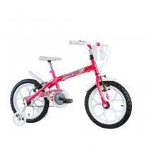 Bicicleta Infantil Feminina Monny Aro 16 Track Bike Rosa - Track