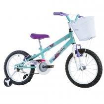 Bicicleta Infantil Feminina Track Girl Aro 16 Azul/Branco - Track Bikes - Track Bikes