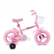 Bicicleta Infantil Fofys Aro 12 Rosa 10093 - Verden Bikes - Verden Bikes