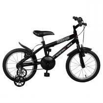 Bicicleta Infantil Free Boy Aro 16 Preta Master Bike -