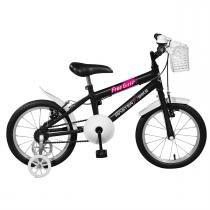 Bicicleta Infantil Free Girl Aro 16 Preta Master Bike - Master Bike