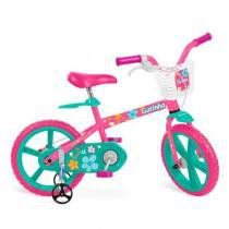 Bicicleta Infantil Gatinha Aro 14 - Rosa - Bandeirantes