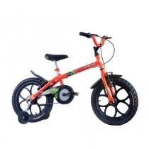 Bicicleta Infantil Masculina Dino Neon Aro 16 Track Laranja - Track