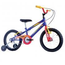 Bicicleta Infantil Masculina Track Boy Aro 16 Azul Fosco - Track Bikes - Track Bikes