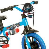 Bicicleta Infantil Masculino Aro 12 Veloz - Nathor - Azul - Nathor