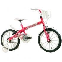 Bicicleta Infantil Monny PN Aro 16 Track  Bikes - Pink Neon - Track  Bikes