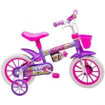 Bicicleta Infantil Nathor - Aro 12 Violet