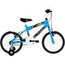 Bicicleta Infantil Top Lip Aro 16 Azul - Mormaii - Mormaii