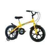 Bicicleta Infantil Track Bikes Dino, Amarela e Preta, Aro 16 - Track  Bikes