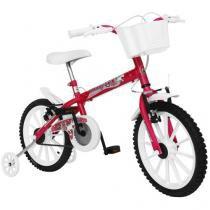 Bicicleta Infantil Track & Bikes Monny Neon Aro 16 - Freio V-brake