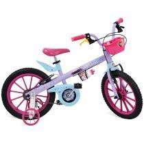 Bicicleta Infantil X-Bike Frozen Aro 16 2473 - Bandeirante - Bandeirante