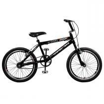 Bicicleta Jump Aro 20 Aero 36 Raios Preta Master Bike - Master Bike