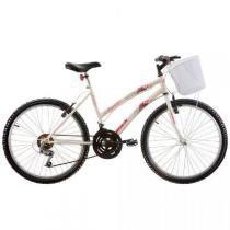 Bicicleta Juvenil Track Bikes Parati, Branca, Aro 24, 18 Marchas - Track  bikes