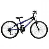 Bicicleta Masculina Ciclone Plus 21V Aro 24 Master Bike -