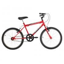 Bicicleta Masculina Cometa Infanto Juvenil Aro 20 Vermelha - Track Bikes - Track Bikes