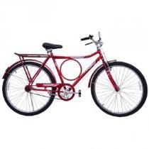 Bicicleta Masculina Potenza Aro 26 Freios Suecos Vermelha - Cairu -