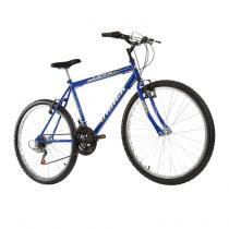 Bicicleta Masculina Viper Aro 26 18 Marchas Azul - Track Bikes - Azul royal - Track  Bikes