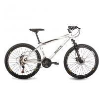 Bicicleta Mazza Bikes Fire - Aro 26 Disco - Shimano 24 Marchas MZZ-600 - Branco - 17 - Mazza Bikes