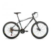 Bicicleta Mazza Bikes Fire - Aro 26 Disco - Shimano 24 Marchas MZZ-600 - Preto - 17 - Mazza Bikes