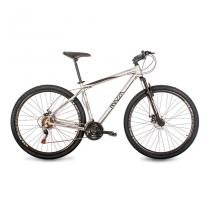 Bicicleta Mazza Bikes Fire - Aro 29 Disco - Shimano 21 Marchas - MZZ-200 - Prata - 21 -
