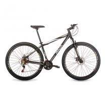 Bicicleta Mazza Bikes Fire - Aro 29 Disco - Shimano 21 Marchas - MZZ-200 - Preto - 19 -