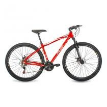 Bicicleta Mazza Bikes Fire - Aro 29 Disco - Shimano 24 Marchas MZZ-700 - vermelho - 21 -