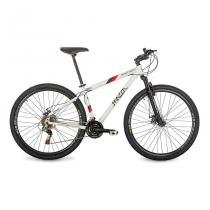 Bicicleta Mazza Bikes New Times - Aro 29 Disco - Shimano 21 Marchas MZZ-900 - Branco - 17 -