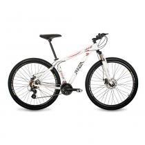 Bicicleta Mazza Bikes Ninne - Aro 29 Disco - Shimano Altus 24 Marchas - MZZ-400 - Branco - 21 -