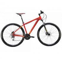 """Bicicleta Merida Big Nine 20 29"""" 24 V Disco Mecânico Vermelho/Amarelo (2016) - TAM 17 - 17 - Merida"""
