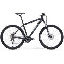 """Bicicleta Merida Big Seven 40 27,5"""" 27 V Disco Hidráulico Preto/Cinza (2016) - 18,5 - Merida"""
